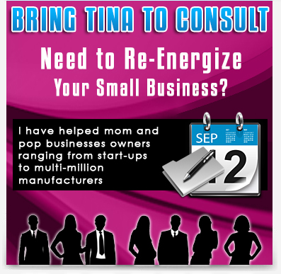 Tina Brinkley Potts a small business consultant