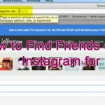 How to Find Friends on Instagram for PC