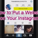 How to Put a Website on Your Instagram