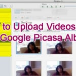 How to Upload Videos to a Google Picasa Album