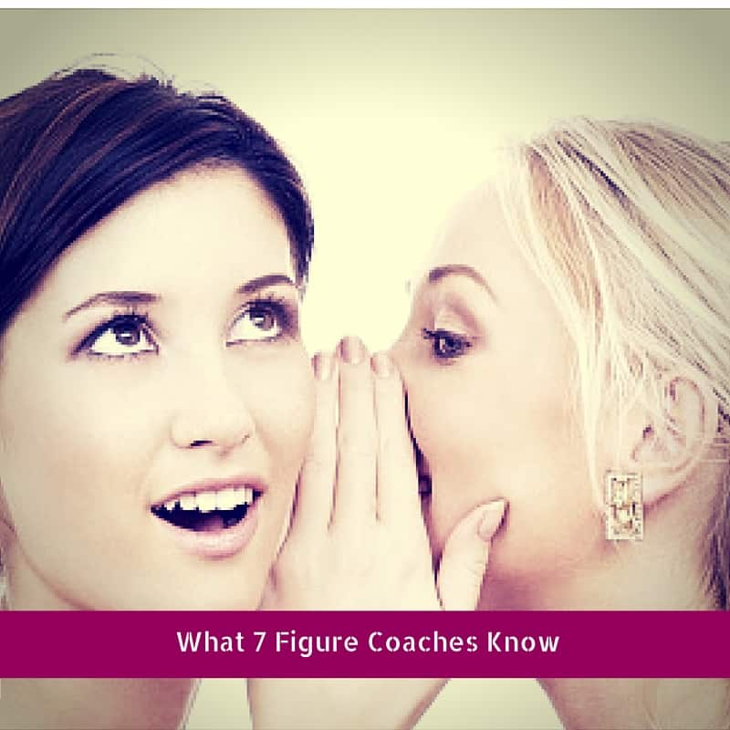 7 figure coaching business
