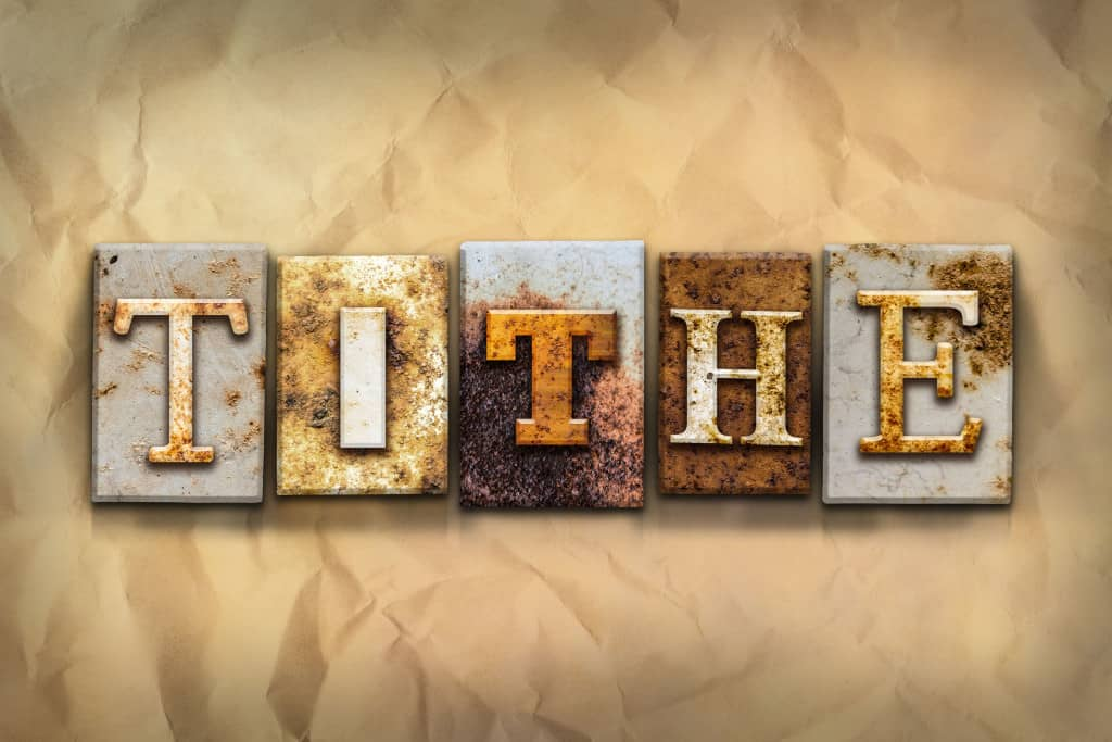 Tithing Services As A Hand Up